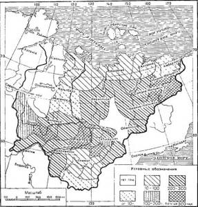 Карта-Якутской-ССР